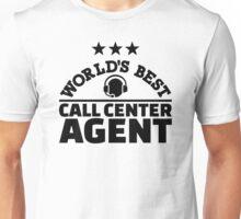 World's best call center agent Unisex T-Shirt