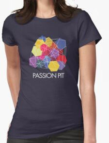 "Passion Pit - ""Chunk of Change"" Womens Fitted T-Shirt"