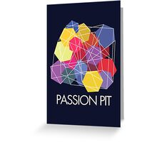 """Passion Pit - """"Chunk of Change"""" Greeting Card"""