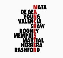 Manchester United spelt using player names Unisex T-Shirt