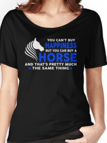 You can buy a Horse Women's Relaxed Fit T-Shirt