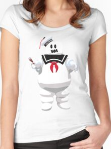 STAY PIFFED Women's Fitted Scoop T-Shirt