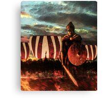 The Shield Maiden Canvas Print