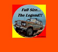 Full size Jeep, the Legend Womens Fitted T-Shirt