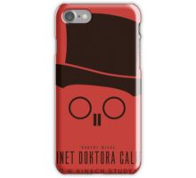 Cabinet of Dr. Caligari - Poster Art iPhone Case/Skin