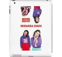 Miranda Sings x4 iPad Case/Skin