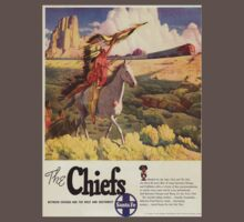Vintage poster - The Chiefs One Piece - Short Sleeve
