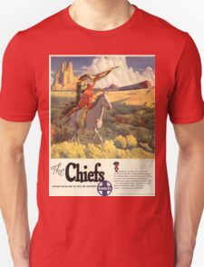 Vintage poster - The Chiefs Unisex T-Shirt