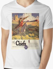 Vintage poster - The Chiefs Mens V-Neck T-Shirt
