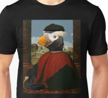 Birders Rule - Tufted Puffin in Red Unisex T-Shirt