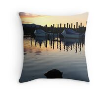 Sunset at Keswick Throw Pillow