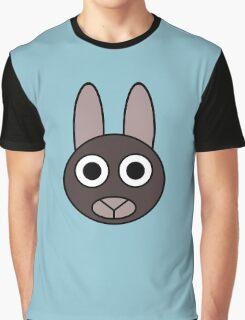 Grey Rabbit Graphic T-Shirt