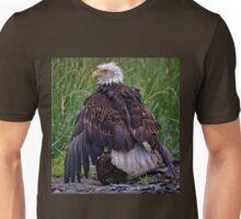 All Wet Bald Eagle Unisex T-Shirt
