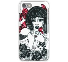 Red Butterfly iPhone Case/Skin