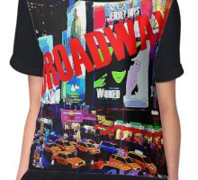 BROADWAY Lights Chiffon Top