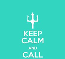 Keep Calm And Call Finnick - Hunger Games Inspired by ReadingFever