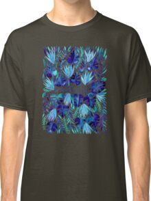 Tropical Wanderlust – Blue Classic T-Shirt