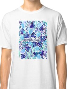 Tropical Wanderlust – Blue Classic T-Shirt