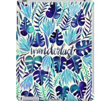 Tropical Wanderlust – Blue iPad Case/Skin
