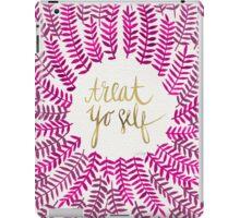Treat Yo Self – Gold & Pink iPad Case/Skin