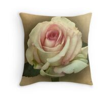 Victorian Blush Tote and Pillow Throw Pillow