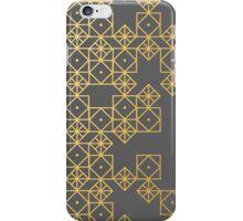Geometric Gold iPhone Case/Skin