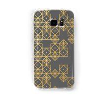 Geometric Gold Samsung Galaxy Case/Skin