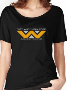 Space Deep Weyland Industries Women's Relaxed Fit T-Shirt