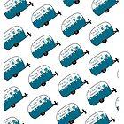 Retro Camper | Tin Can Happy! by Patricia Montgomery