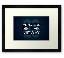 Monsters of the Midway Framed Print