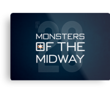 Monsters of the Midway Metal Print