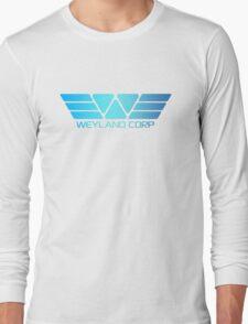 Space Deep Weyland Industries Long Sleeve T-Shirt