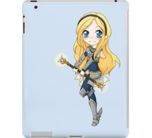 Lux chibi - Tactical decision! - League of Legends iPad Case/Skin