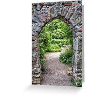Secret Garden.  Greeting Card