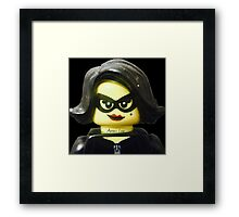 Lego Jewel Thief Framed Print