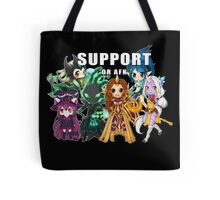 Support or AFK - League of Legends chibi t-shirt Tote Bag