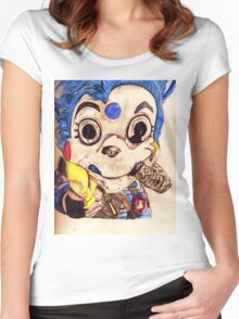Mousekat  Women's Fitted Scoop T-Shirt