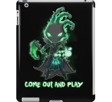 Thresh chibi - come out and play - League of Legends iPad Case/Skin