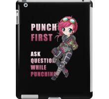 Vi chibi - Punch First - League of Legends iPad Case/Skin
