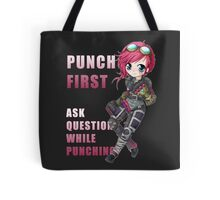 Vi chibi - Punch First - League of Legends Tote Bag