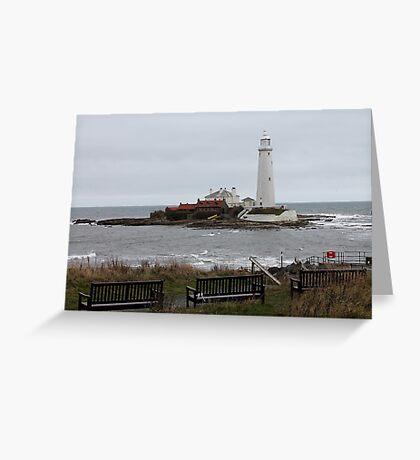 Island view Greeting Card