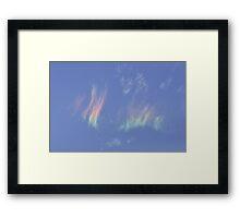 Iridescent Clouds Framed Print