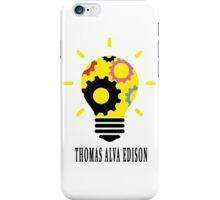 Scientist - Thomas Alva Edison iPhone Case/Skin