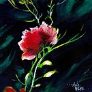 Red Flower New by Anil Nene