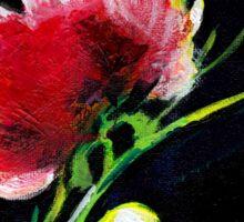 Red Flower New Sticker