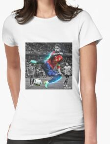 Sergio Ramos Spain Euro 2016 Womens Fitted T-Shirt