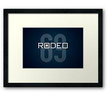 Rodeo Framed Print