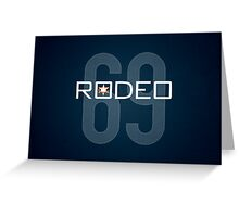 Rodeo Greeting Card