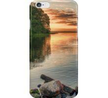 Lake Sunrise. iPhone Case/Skin
