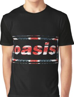 OASIS UNION JACK DESIGN Graphic T-Shirt